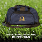 Blue-Gold Golf Duffel Bag